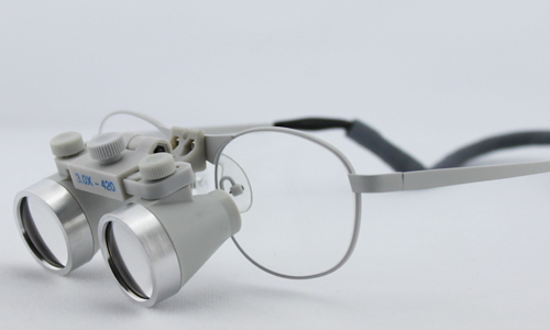 flip up dental loupes surgical loupes 3.0x waterproof