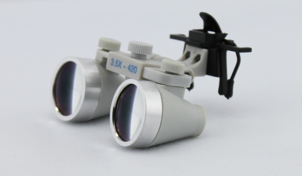 Clip on dental loupes surgical loupes waterproof 3.5X