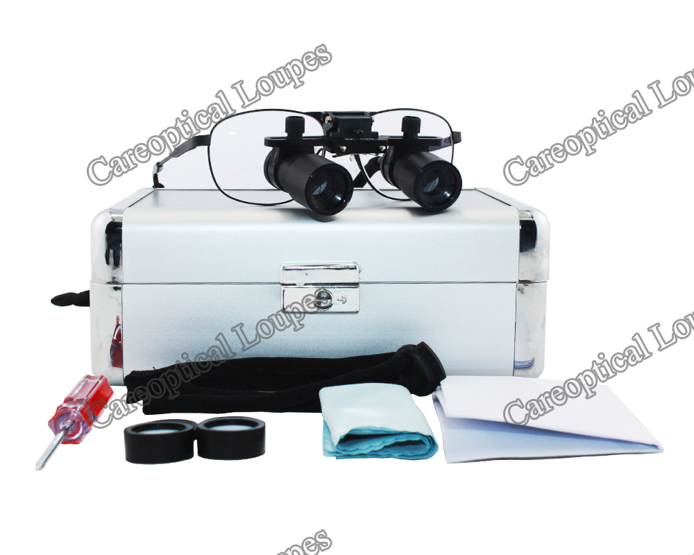 prismatic dental loupes surgical loupes 6.0X