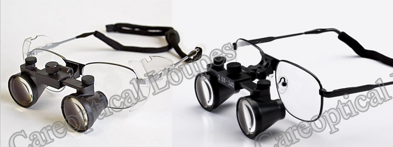 dental loupes surgical loupes 2.5X Titanium frames