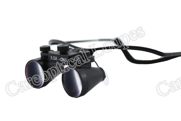 dental loupes surgical loupes 3.5X stainless steel frames