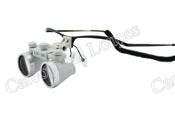 dental loupes surgical loupes waterproof 2.5X stainless steel frames