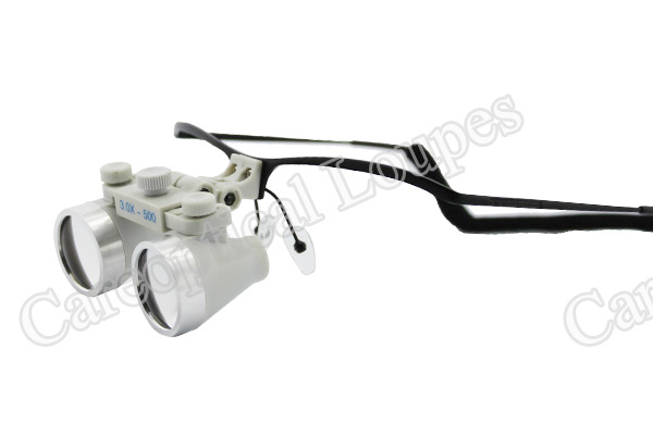 dental loupes surgical loupes waterproof loupes 3.0x stainless steel frames