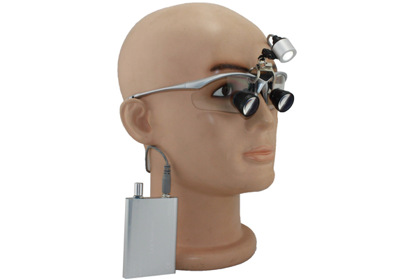 TTL dental loupes surgical loupes + LED headlights yh001