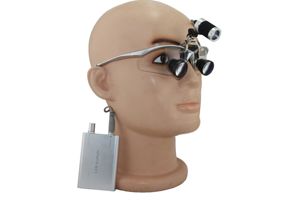 TTL dental loupes surgical loupes + LED headlights yh002