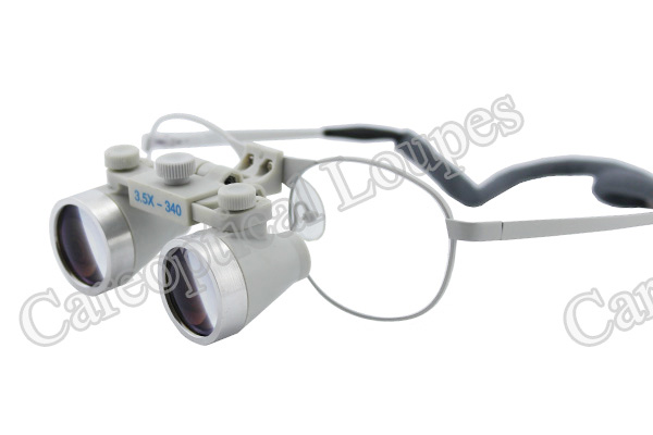 flip up dental loupes surgical loupes 3.5X waterproof