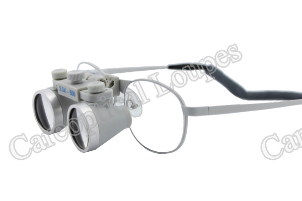 flip up dental loupes surgical loupes 2.5x waterproof