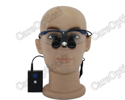 Flip Up dental loupes surgical loupes with LED headlight H60