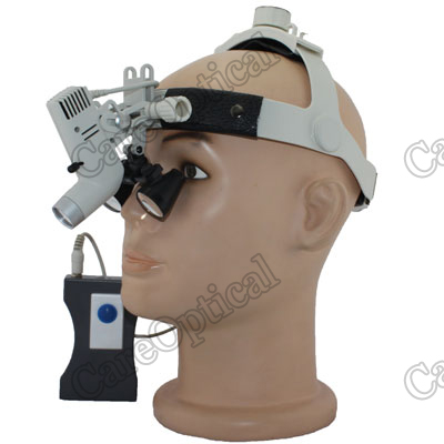 debntal surgical loupes with headlight H80