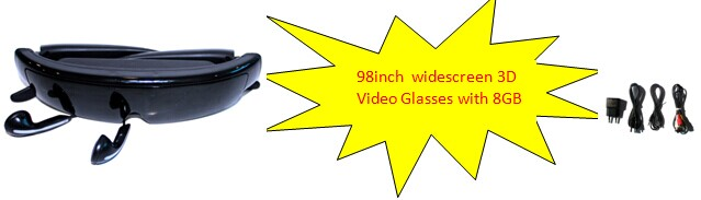 3d video glasses IVS-2
