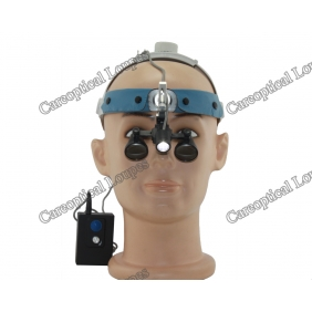 headband dental surgical loupes with headlight H60
