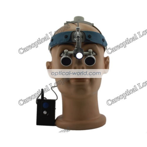 headband waterproof dental surgical loupes with Headlight H60