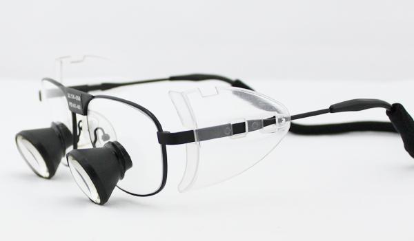 TTL loupes titanium frames