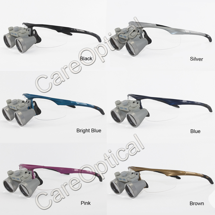Flip Up dental loupes surgical loupes 2.5Xsports frames