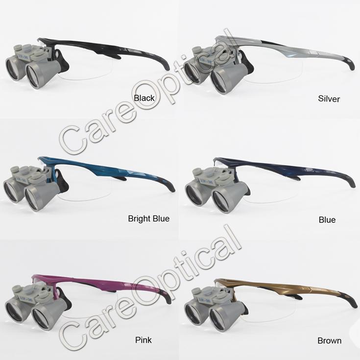 Flip Up dental loupes surgical loupes 2.5Xsports frames