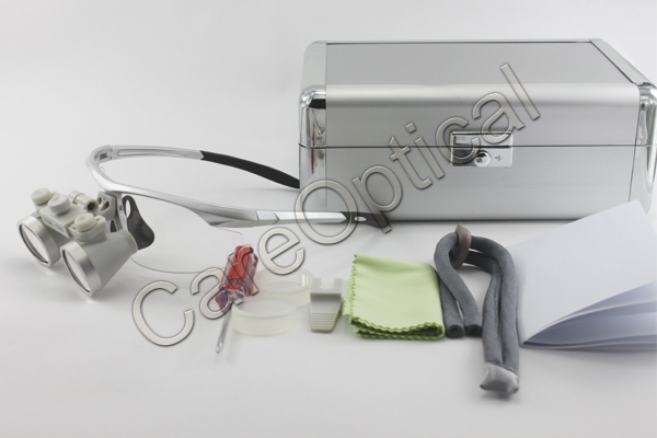 waterproof dental surgical loupes packing