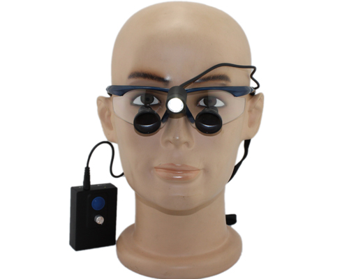 TTL loupes with LED light