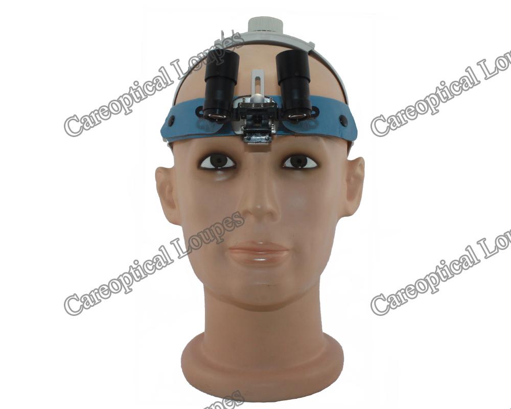 LB headband prismatic loupes 4.0x