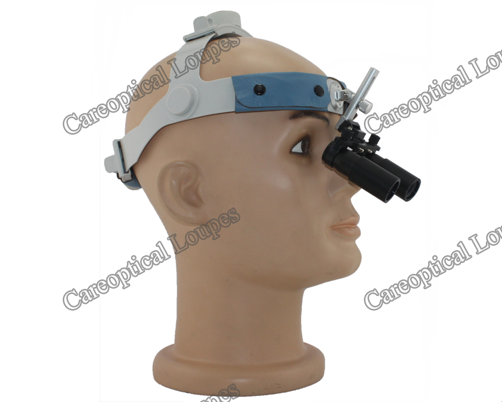 LB headband prismatic loupes 8.0x