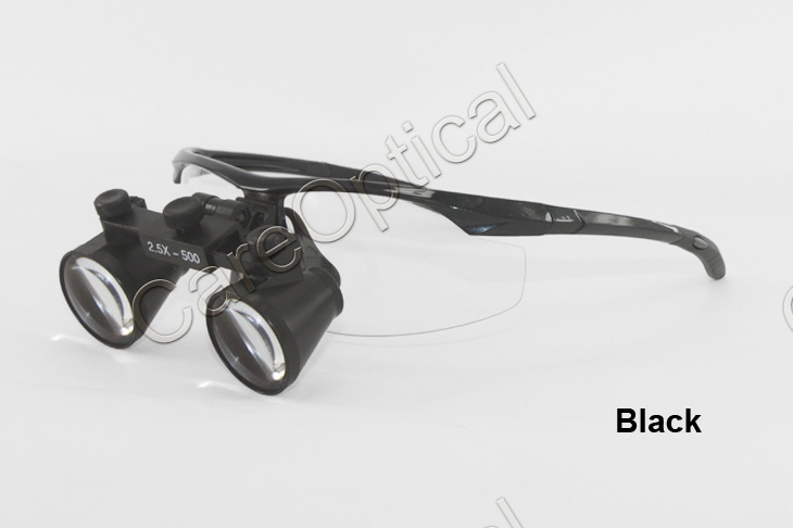 Flip up dental loupes surgical loupes 2.5X sports frames