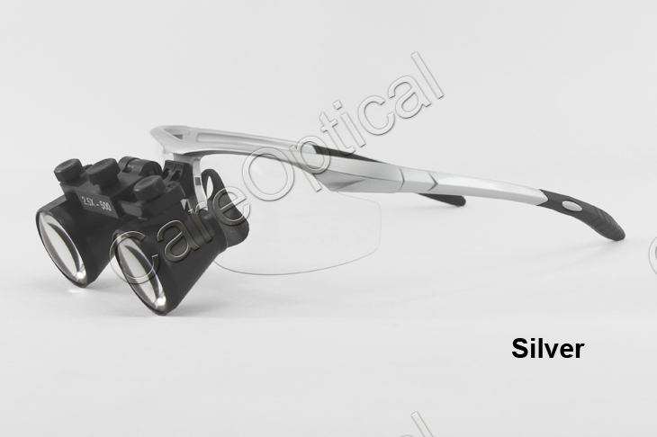 Flip up dental loupes surgical loupes 3.0X sports frames