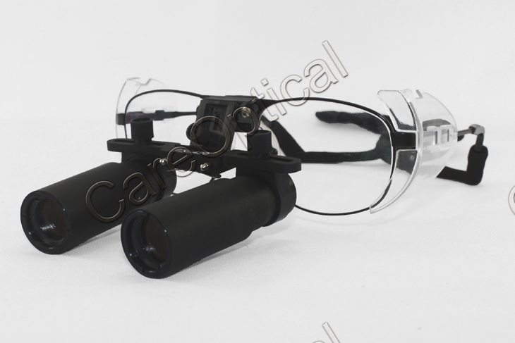 Keplerian prismatic loupes dental loupes surgical loupes 5.0X