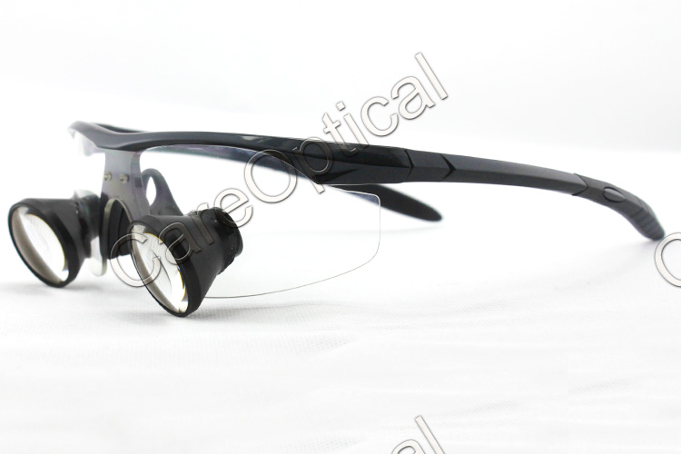 TTL loups dental loupes surgical loupes sports frames Black