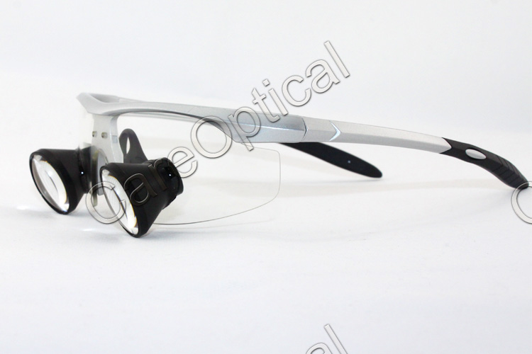 TTL loups dental loupes surgical loupes sports frames Silver