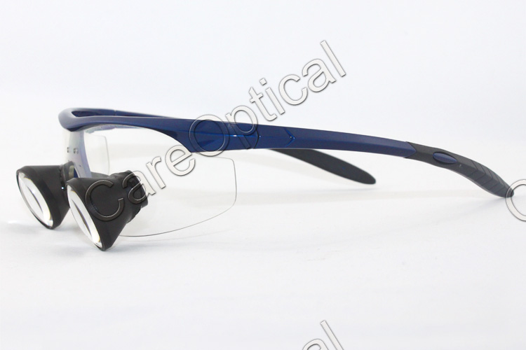 TTL loups dental loupes surgical loupes sports frames Dark Blue