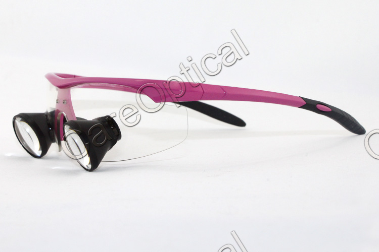 TTL loups dental loupes surgical loupes sports frames Pink