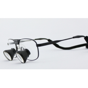 TTL Dental Loupes Surgical Loupes 3.5X Pure Titanium Frames