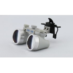 Waterproof Clip On Dental Surgical Loupes 3.5X