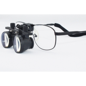 Zoom Lens Galilean Loupes 2.5X Ni-alloy Frames