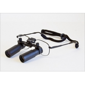Flip Up Prismatic Loupes 5.0X Titanium Frames
