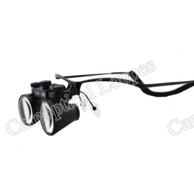 Flip Up Galilean Dental Loupes 2.5X Stainless Steel Frames