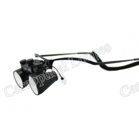 Flip Up Galilean Dental Loupes 3.0X  Stainless Steel Frames