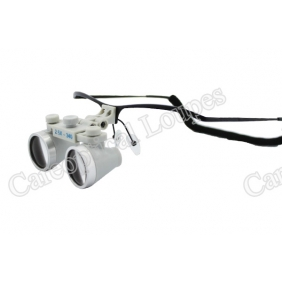Flip Up Waterproof Loupes 2.5X Stainless Steel Frames