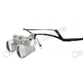 Flip Up Waterproof Loupes 3.5X Stainless Steel Frames