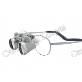 Waterproof Dental Surgical Loupes 2.5X Ni-alloy Frames