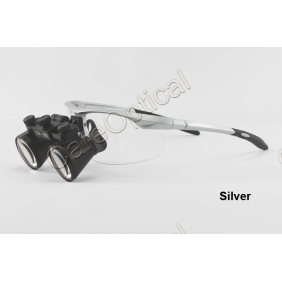 Flip Up Galilean Dental Surgical Loupes 3.5X Sports Frames